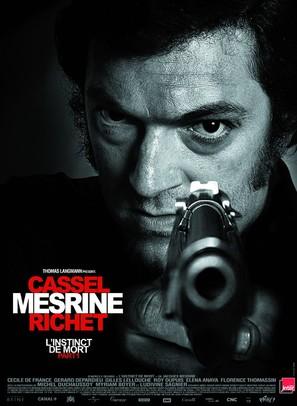 L'instinct de mort - French Movie Poster (thumbnail)