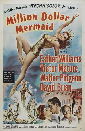 Million Dollar Mermaid - Movie Poster (thumbnail)