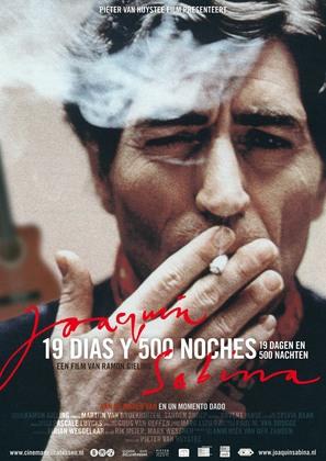 Joaquín Sabina - 19 días y 500 noches - Dutch Movie Poster (thumbnail)
