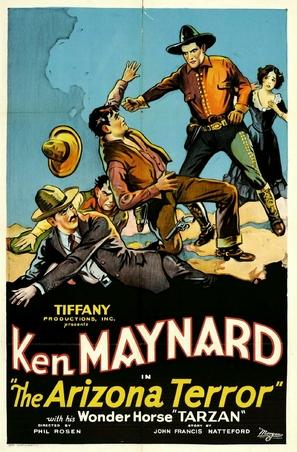 Arizona Terror - Movie Poster (thumbnail)