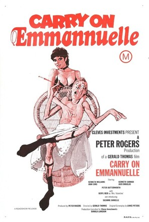 Carry on Emmannuelle - Australian Movie Poster (thumbnail)