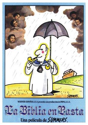 La biblia en pasta - Spanish Movie Poster (thumbnail)