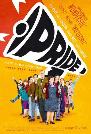 Pride - British Movie Poster (thumbnail)
