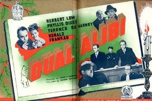 Dual Alibi - British Movie Poster (thumbnail)