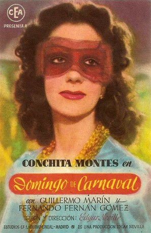 Domingo de carnaval - Spanish Movie Poster (thumbnail)
