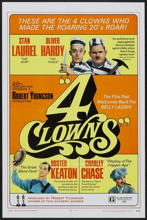 4 Clowns - Movie Poster (thumbnail)