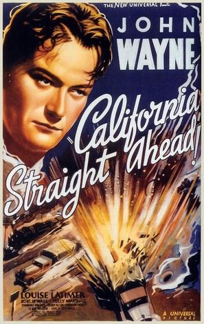 California Straight Ahead! - Movie Poster (thumbnail)