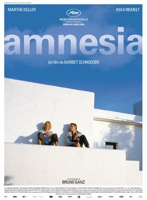 Amnesia - French Movie Poster (thumbnail)