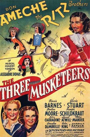 The Three Musketeers - Movie Poster (thumbnail)