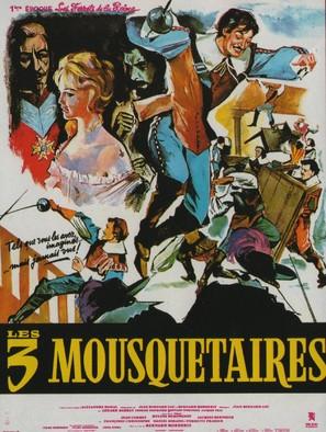 Les trois mousquetaires: Première époque - Les ferrets de la reine - French Movie Poster (thumbnail)