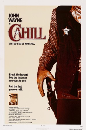 Cahill U.S. Marshal - Movie Poster (thumbnail)
