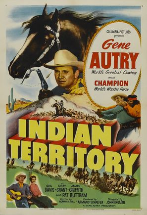 Indian Territory - Movie Poster (thumbnail)