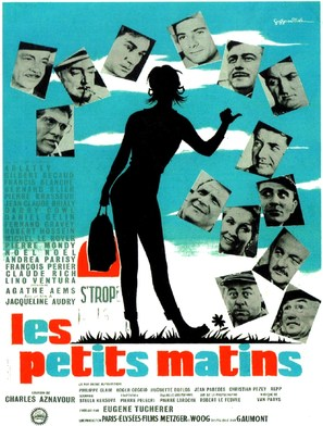 Les petits matins - French Movie Poster (thumbnail)
