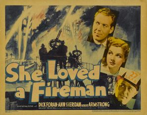 She Loved a Fireman - Movie Poster (thumbnail)