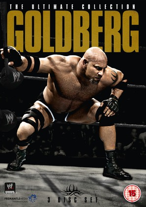 WWE: Goldberg - The Ultimate Collection - British Movie Cover (thumbnail)