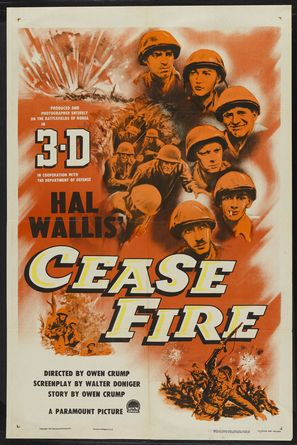 Cease Fire! - Movie Poster (thumbnail)