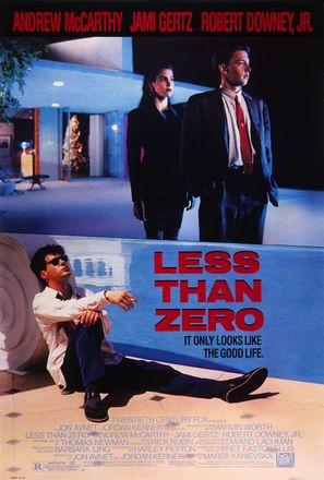 Less Than Zero - Movie Poster (thumbnail)