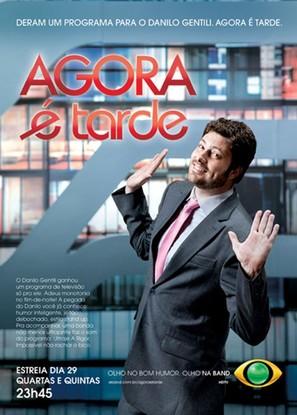 """Agora é Tarde"" - Brazilian Movie Poster (thumbnail)"