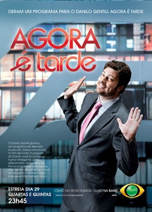 """Agora é Tarde"" - Brazilian Movie Poster (thumbnail)"