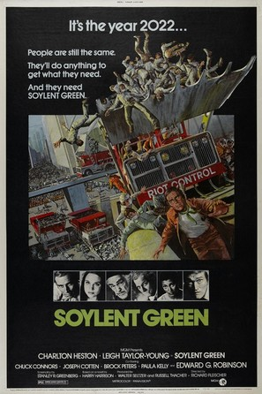Soylent Green - Movie Poster (thumbnail)