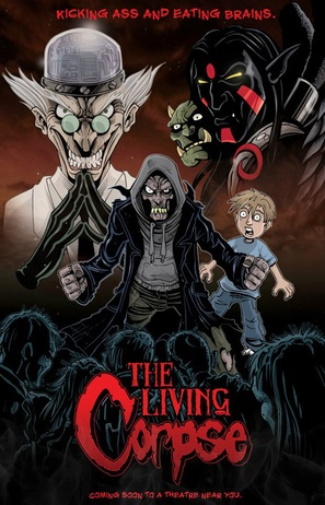 The Amazing Adventures of the Living Corpse - Movie Poster (thumbnail)