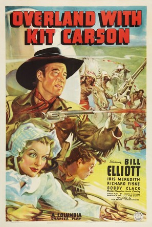 Overland with Kit Carson - Movie Poster (thumbnail)