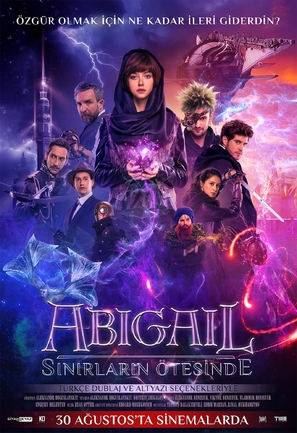 Abigail - Turkish Movie Poster (thumbnail)