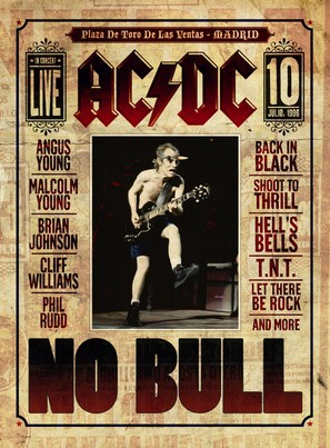 AC/DC: No Bull - Movie Poster (thumbnail)