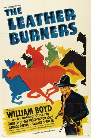 Leather Burners - Movie Poster (thumbnail)
