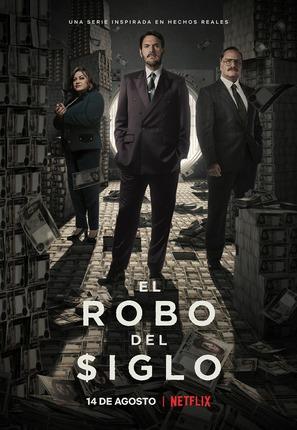 """""""El robo del siglo"""" - Colombian Movie Poster (thumbnail)"""