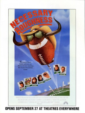 Necessary Roughness - Movie Poster (thumbnail)