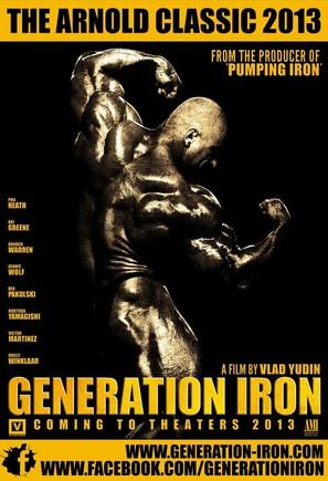 Generation Iron - Movie Poster (thumbnail)
