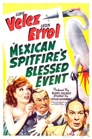 Mexican Spitfire's Blessed Event - Movie Poster (thumbnail)