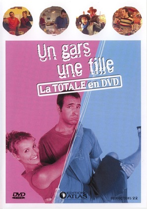 """""""Un gars, une fille"""" - French DVD movie cover (thumbnail)"""