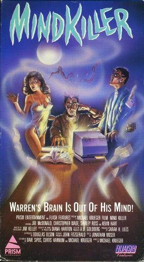 Mindkiller - VHS movie cover (thumbnail)