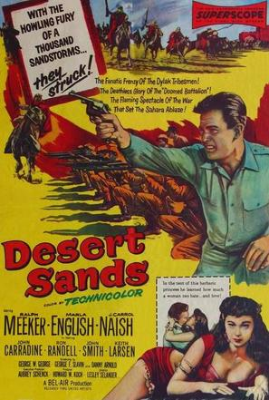 Desert Sands - Movie Poster (thumbnail)