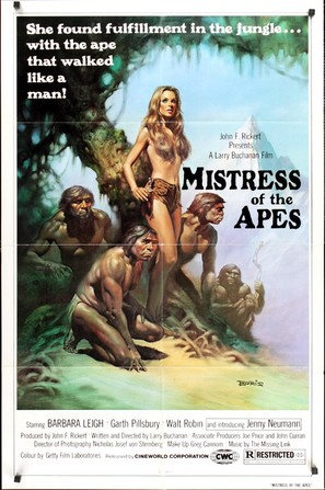 Mistress of the Apes - Movie Poster (thumbnail)
