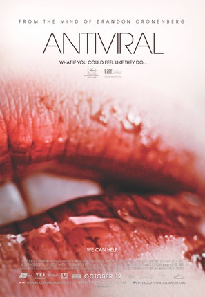Antiviral - Canadian Movie Poster (thumbnail)