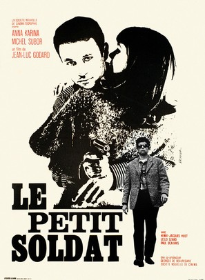 Le petit soldat - French Movie Poster (thumbnail)