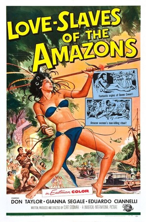 Love Slaves of the Amazons - Movie Poster (thumbnail)