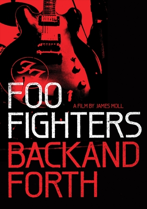 Foo Fighters: Back and Forth - DVD cover (thumbnail)