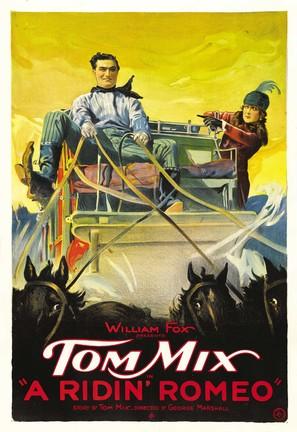 A Ridin' Romeo - Movie Poster (thumbnail)