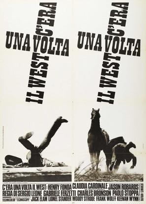 C'era una volta il West - Italian Movie Poster (thumbnail)