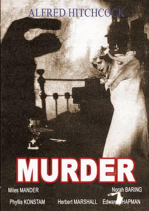 Murder! - DVD movie cover (thumbnail)