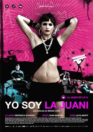 Yo soy la Juani - Spanish Movie Poster (thumbnail)