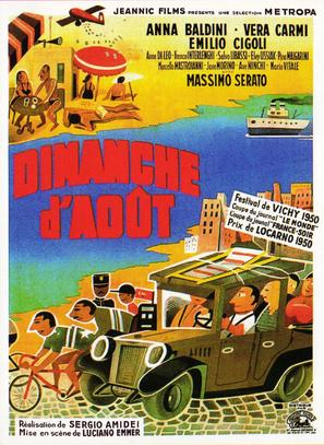 Domenica d'agosto - French Movie Poster (thumbnail)