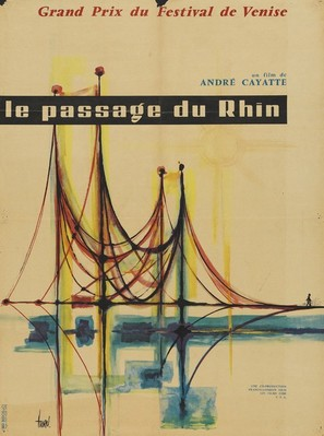 Passage du Rhin, Le - French Movie Poster (thumbnail)
