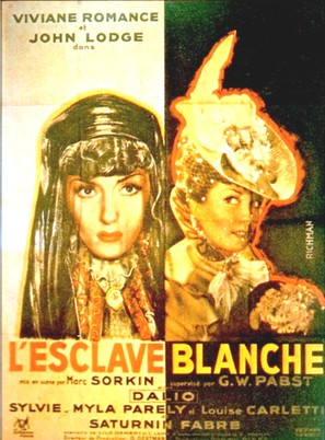 L'esclave blanche - French Movie Poster (thumbnail)