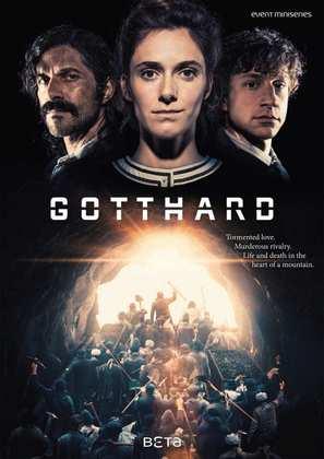 """Gotthard"" - Swiss Movie Poster (thumbnail)"