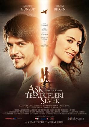 Ask Tesadüfleri Sever - Turkish Movie Poster (thumbnail)